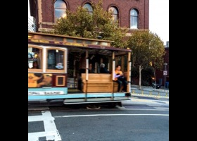 Cable Car Moving